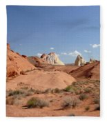 Rock Formations Fleece Blanket
