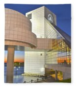 Rock Hall Sunset Fleece Blanket