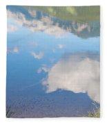 Rock Lake Alberta Canada And Willmore Wilderness Fleece Blanket