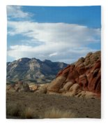 Rock Layers Fleece Blanket
