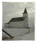 Rock Of Ages In North Dakota Fleece Blanket