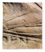 Rock Patterns Fleece Blanket