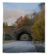 Rock Tunnel - Kelly Dive Fleece Blanket