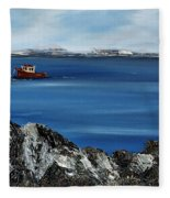 Rock View Fleece Blanket