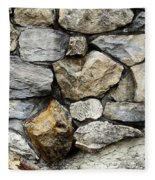 Rock Wall  Fleece Blanket