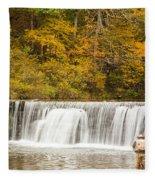 Rockbridge Fisherman Fleece Blanket