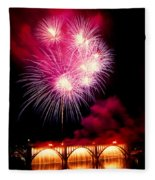 Rockets Red Glare Fleece Blanket