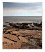 Rockport Rocks Fleece Blanket