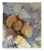 Rocks And Pebbles 2 Fleece Blanket