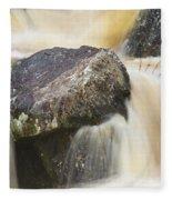 Rocks And Rapids #2 Fleece Blanket