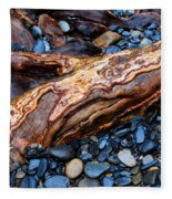 Rocks And Roots Fleece Blanket