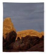Rocks In Arches National Park Fleece Blanket