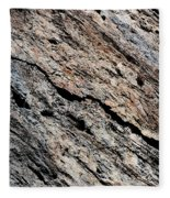 Rocks Texture Fleece Blanket