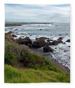 Rocky Beach Fleece Blanket