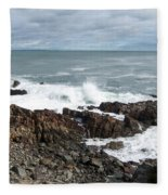 Rocky Coast Fleece Blanket