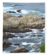 Rocky Cove Detail Fleece Blanket