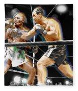 Rocky Marciano V Jersey Joe Walcott Fleece Blanket