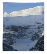 Rocky Mountain Blue Fleece Blanket