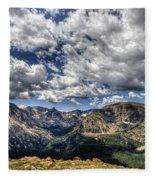 Rocky Mountain Dreams Fleece Blanket