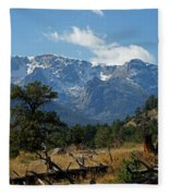 Rocky Mountain High Fleece Blanket