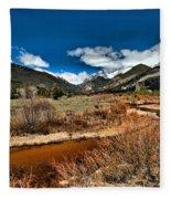 Rocky Mountain Meadows Fleece Blanket