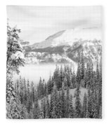 Rocky Mountain Vista Fleece Blanket