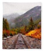 Rocky Mountaineer Fleece Blanket