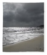 Rocky Neck Beach Fleece Blanket