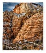 Rocky Peak Fleece Blanket