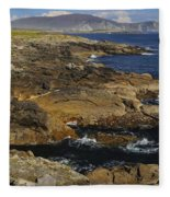 Rocky Seashore Fleece Blanket