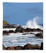 Rocky Shores Fleece Blanket