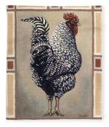 Rocky The Rooster Fleece Blanket