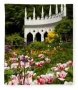 Rococo Spring Fleece Blanket