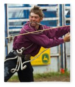 Rodeo All Strung Out Fleece Blanket