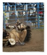 Rodeo Crunch Time Fleece Blanket