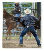 Rodeo Easy Does It Fleece Blanket