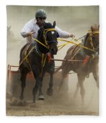 Rodeo Eat My Dust 1 Fleece Blanket