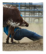 Rodeo Getting Down Fleece Blanket