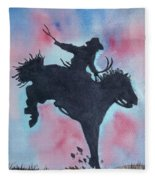 Rodeo No 1 Fleece Blanket