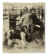 Rodeo Prepared To Be Punished Fleece Blanket