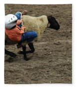 Rodeo Velcro Rider 2 Fleece Blanket