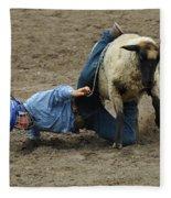 Rodeo Velcro Rider 3 Fleece Blanket