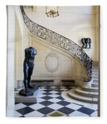 Rodin Museum Fleece Blanket