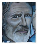 Roger Alan Wade Kris Kristoferson Billy Joe Shaver Fleece Blanket