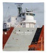 Roger Blough 3  Fleece Blanket