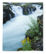 Rogue River Falls 5 Fleece Blanket