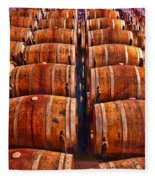 Roll Out The Barrel Fleece Blanket