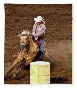 Roll Out The Barrel Fleece Blanket