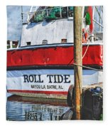 Roll Tide Stern Fleece Blanket