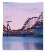Roller Coaster Fleece Blanket